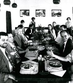 i primi a sx Gianni Demarin e Angelo Marchesi. Una vecchia foto inizio anni 90
