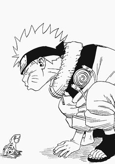 Top 25 printable Naruto coloring pages, Download and print