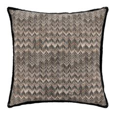 Update an interior with this Thailand cushion from Missoni Home. Made from 100% polyester, the luxurious cushion features the iconic zigzag print in natural tones. Ideal for layering over bed linen or