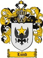 Lund Coat of Arms / Lund Family Crest