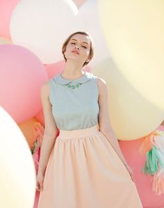 2014 Spring Trends: Pastel Clothing