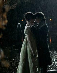 Becoming Jane- one of my most favorite scenes ever. In this moment-- who cares if its raining?