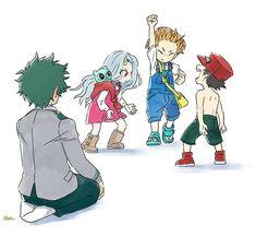 Anime: My Hero Academia My Hero Academia Shouto, Hero Academia Characters, Anime Characters, Otaku Anime, Anime Art, Manga Anime, Deku Boku No Hero, Hero Wallpaper, Fanarts Anime