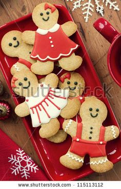 Stock Images similar to ID 116921737 - christmas homemade gingerbread...