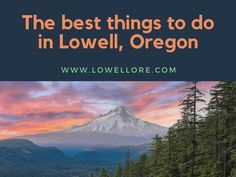 If you are visiting Lowell, Oregon for the first time and you don't know what to do, then we have a couple of suggestions for you. This town is famous for its beautiful and pristine nature, and many people with kids come here to spend their vacation. People are friendly and welcoming, and you can …