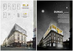 Propuestas presentadas al Concurso de Arquitectura para Estudiantes Paris Market Lab Organizado por ArchMedium