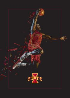 Isu Basketball, Iowa State Basketball, Basketball Posters, College Football, Alpha Phi Sorority, Iowa State Cyclones, Greek Week, Basement Ideas, ...