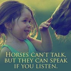 Touching horse quote that describes what so many of us feel.