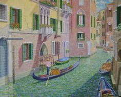 ARTFINDER: Maneuvering the Venetian Canals by William R. Beebe - Artistically, one of the most intriguing aspects of Venice to me is the complexity the many canal intersections bring to a composition.  The lighting element...