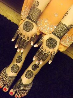 Amazing Eid Mehndi Designs & Henna Patterns For Hands & Feet 2013/ 2014 | Girlshue