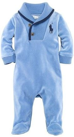 Ralph Lauren Polo infant Coveralls-Sam's coming home outfit Baby Outfits, Kids Outfits, Baby Boy Fashion, Kids Fashion, Ralph Lauren, Baby Boys, Infant Boys, Trendy Baby, Future Baby