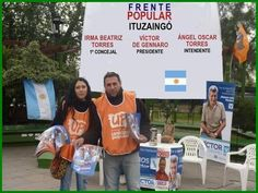 ÁNGEL OSCAR TORRES, PRECANDIDATO A INTENDENTE DE ITUZAINGÓ.LISTA 136 @frentepopularok @victordegennaro Frente Popular, Twitter, Presidents, Towers