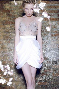 modelo de vestido de festa curto