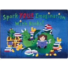 Joy Carpets Reading Cave™ Before Kindergarten, Early Literacy, Oriental Trading, New Adventures, Fun Activities, Classroom, Kids Rugs, Joy, Fancy