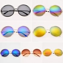 New Women Fashion Sunglasses Eyewear Retro Style Casual Round Sunglasses