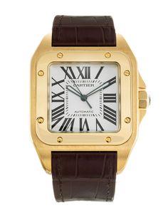 d7f5a67947215 7 best Cartier santos 100 images   Cartier watches, Man fashion ...