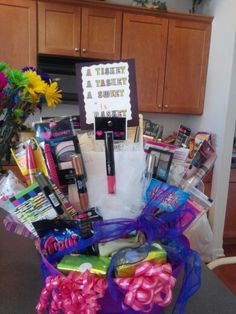 Sweet Sixteen New Driver Basket Gifts Sweet 16 Gifts