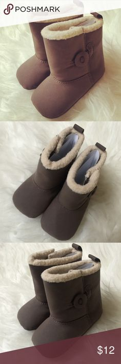 Brown baby boots 😍 3-6 months baby brown boots💕💕 Shoes Ankle Boots & Booties