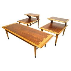 Check out this item at One Kings Lane! 1960s Lane Tables, 3 Pcs