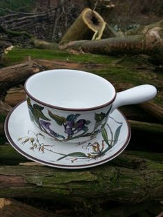Villeroy & Boch Botanica pattern gravy boat with by fcollectables, €65.00