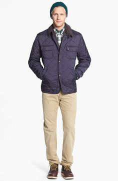 7f8933da8b72 Barbour  Tinford  Regular Fit Quilted Jacket