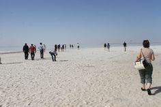 Lago de Sal - Fotografia: Susana Alvarado Pamukkale, Ankara, Capadocia, Beach, Water, Outdoor, Lakes, Viajes, Blue Mosque