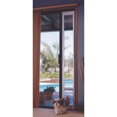 The Ideal Fast Fit Patio Panel Pet Door For Sliding Glass Door Americau0027s  Finest Pet Doors