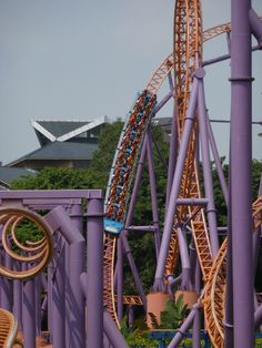 10 Inversion Roller Coaster at Chimelong Paradise, China...the heartline rolls at left look incredible! - Photo by Chuck Campbell, Theme Park Review