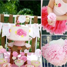 Pin for Later: 120 Kids' Birthday Party Themes to Celebrate Your Child's Big Day A Floral Party