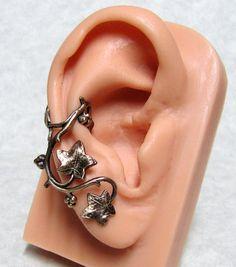Forest Ivy Ear Cuff ' Right Ear ' by ranaway on Etsy, $13.99