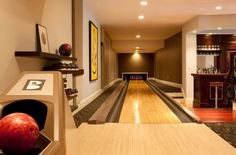 Bowling Alley in your house!