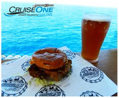 Happy National Cheeseburger Day! You could be enjoying one of these with a view on a Carnival cruise! Mmmm! #guysburgerjoint    Call today to book your vacation! (877) 834-2805