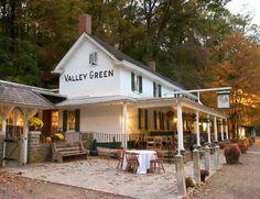 Valley Green - Wissahickon Creek - Philadelphia, Pennsylvania