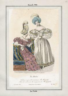 La Mode March 1832 LAPL
