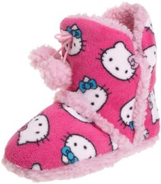 Hello Kitty Superplush Bootie with Pom Pom and Sherpa