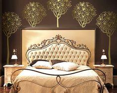 Topiary FRUIT TREE - Reusable Wall STENCIL - DIY Stenciling/Home Decor | OliveLeafStencils - Handmade Supplies on ArtFir