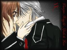 Vampire Knight Yuki And Zero Kiss - Bing Images