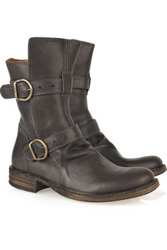 Fiorentini & Baker | Eternity Cusna leather boots | NET-A-PORTER.COM