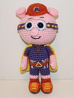 Alpha Pig Crochet Pattern