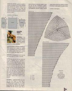 basic bikini chart_a reference Crochet Lingerie, Bikinis Crochet, Crochet Bikini Pattern, Crochet Shorts, Granny Square Crochet Pattern, Crochet Clothes, Tunic Pattern, Crochet Blouse, Free Pattern