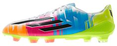 The Lionel Messi collection just got a bit more colorful. Check out the newest edition to the #Adidas Adizero F50 range.