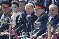 Russie. La place Rouge fête la victoire russe de 1945 Samedi 9 mai 2015