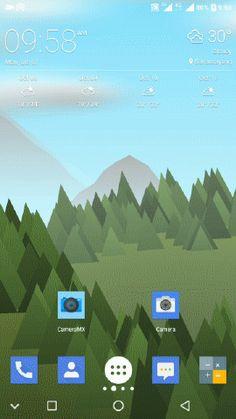 Gambar Live Wallpaper pada Home Screen Android Tricks, Live Wallpapers, Aphrodite, Homescreen, Desktop Screenshot, Smartphone