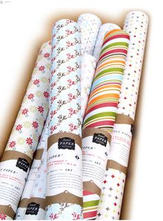 gift wrap patterns for Funnel Paper Goods by Funnel/Eric Kass