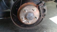 Corolla DIY: DIY - Replacing Broken Rear Wheel Studs 2000 Infin...