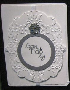 Handmade card using the Word Play stamp set by Stampin' Up!