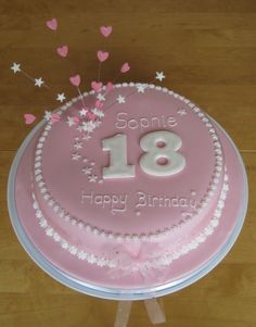 images of themed cakes/19th birthday girl - Google Search