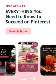 Wondering if there's a better way to increase your reach and traffic from Pinterest? This free, 1-hour webinar from Tailwind takes you from keyword research to Trends to great design and everything in between. There's something for everyone from beginner to professional. Sign up and watch now! Content Marketing, Social Media Marketing, Relationship Goals Pictures, Social Media Trends, Business Networking, Business Website, Pinterest Marketing, New Work, Need To Know