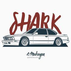 BMW E24 M6 Shark