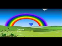 Postales de Buenos Dias - Video Animado - YouTube
